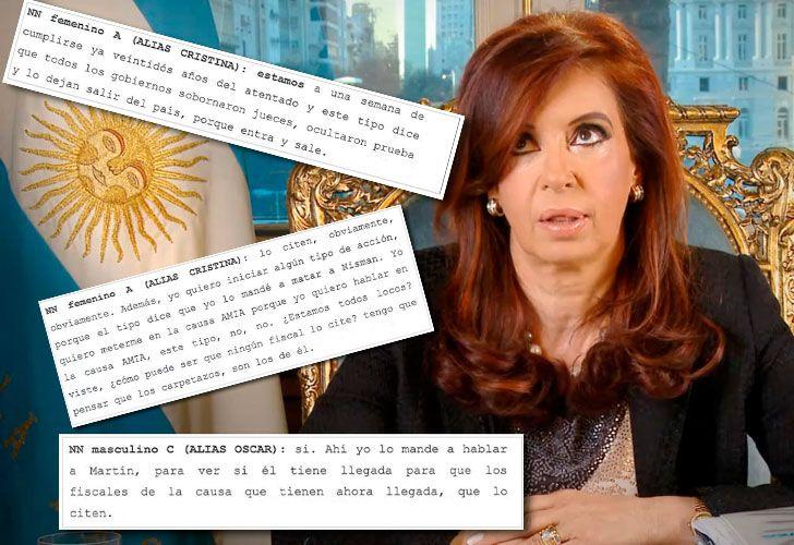 CFK escuchas
