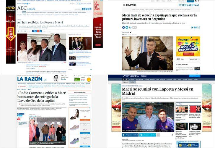 Diarios hablan de Macri