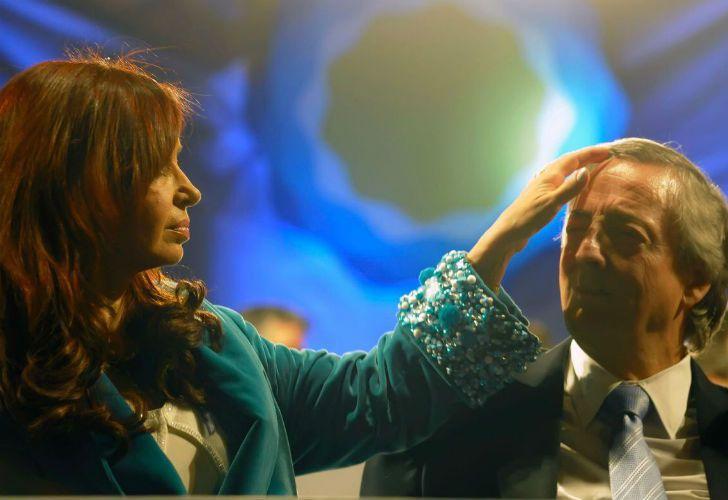 La expresidenta Cristina Fernández de Kirchner recordó a Néstor Kirchner.