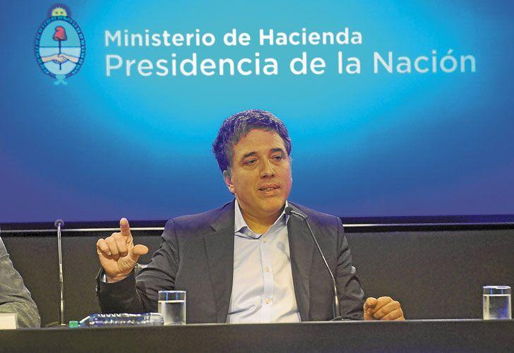 ANUNCIO. El ministro presentó sus metas de déficit hasta 2019.