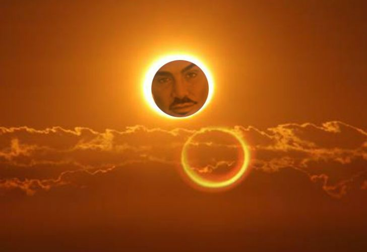 Los memes del eclipse.
