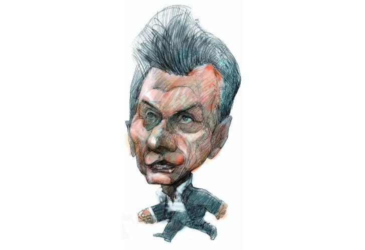 Mauricio Macri, por Temes