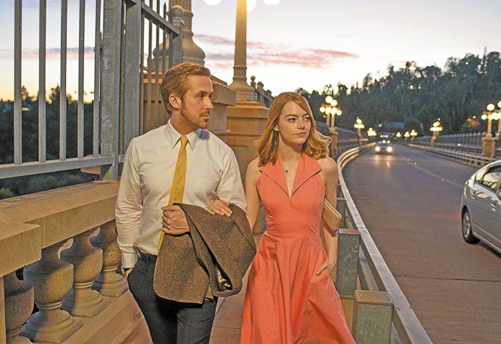 Bemol. La la land, de Damien Chazelle, busca con sus 14 nominaciones transformarse en un hito de Hollywood.