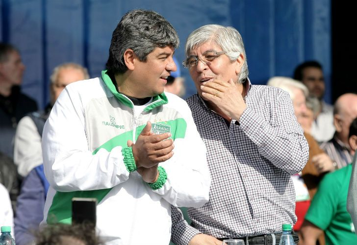 Pablo y Hugo Moyano.