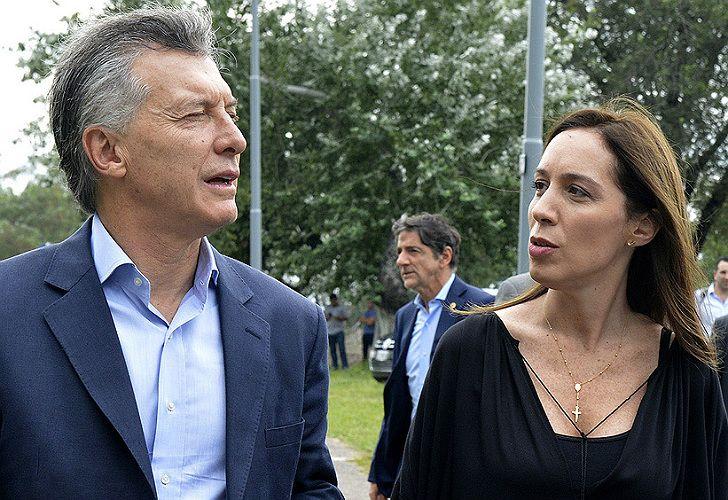 Macri volvió a apoyar a Vidal, en el marco de paritaria docente.