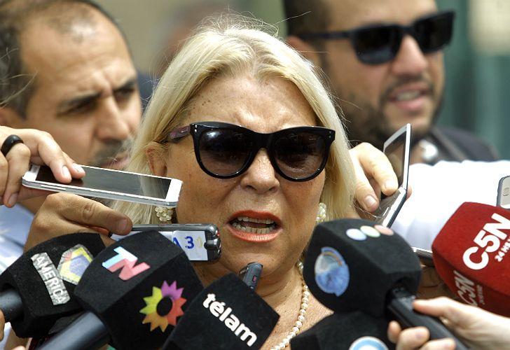 Elisa Carrió, diputada nacional.
