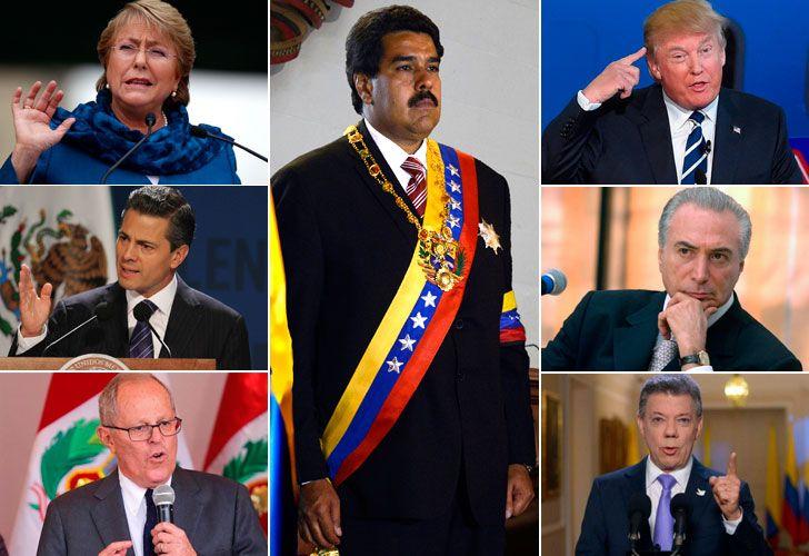 Crece la condena mundial al golpe de Estado de Nicolás Maduro en Venezuela