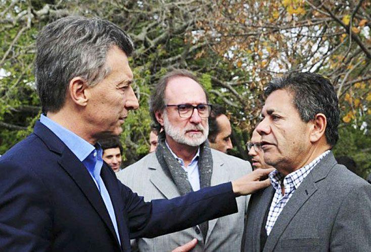 Cercanía. Macri lo anunciará con Martínez de la Uocra.