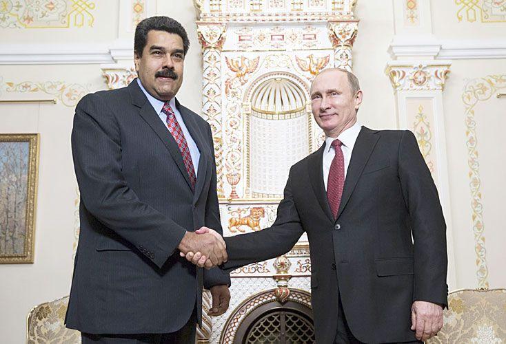 Defensores. Vladimir Putin y Evo Morales fueron los líderes que respaldaron más enfáticamente al sucesor de Hugo Chávez.