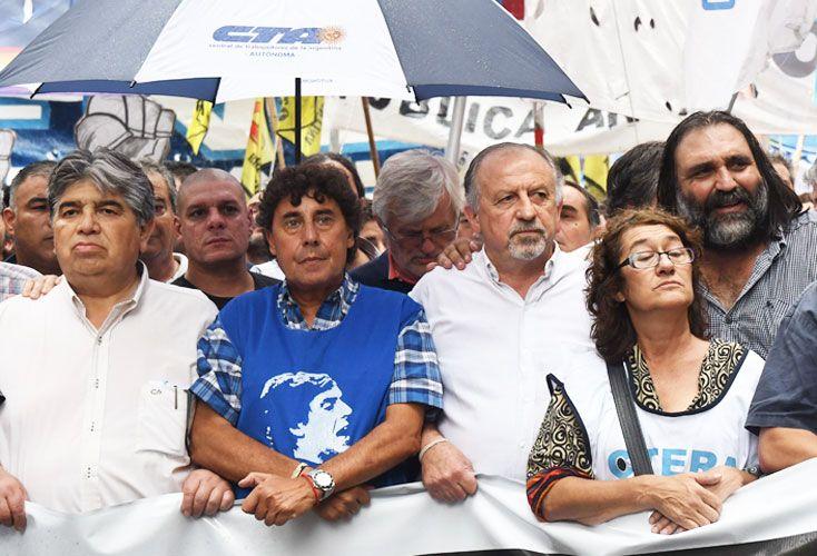 Tensión. Ctera sigue pidiendo paritarias nacionales. En Provincia, exigen audiencia con Vidal, que sigue firme.
