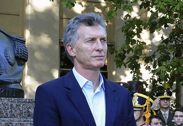Macri, presidente de la Nación.