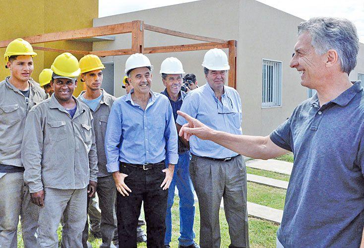 BANDERA. La campaña de Cambiemos será basada en la vivienda.
