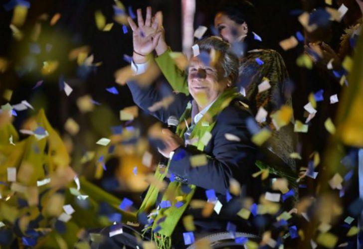 Lenin Moreno, nuevo presidente de Ecuador.