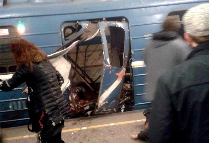 Explosión en San Petersburgo