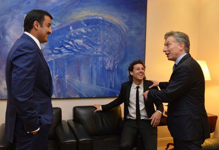 Macri y Gaudio