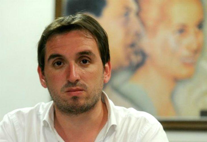 Saúl Ubaldini (hijo).