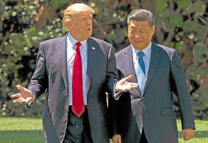 Mano a mano. Los presidentes de Estados Unidos y China se vieron cara a cara por primera vez.