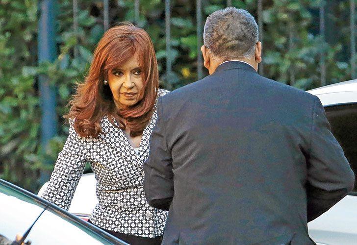 Apuntada. El fiscal Carlos Rívolo confirmó ayer que Cristina tiene todas las cuentas embargadas.
