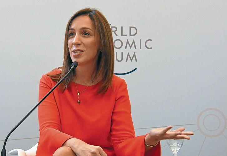 Condicion. La gobernadora María Eugenia Vidal dijo que sólo recibirá a los gremios si garantizan que no habrá más huelgas.