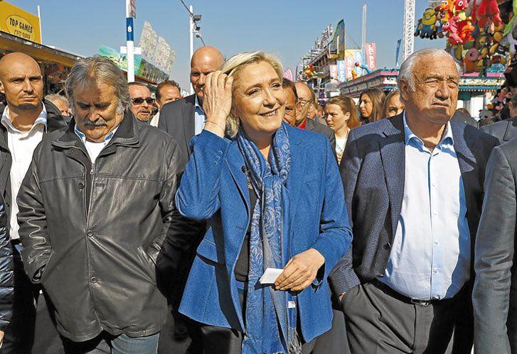 Le Pen. ¿Puede ganar? Dicen que no, pero tampoco Trump iba a ganar.