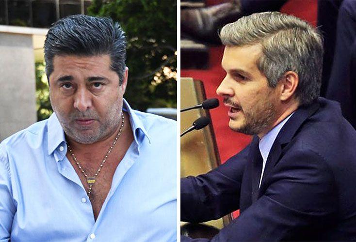 Poderosos. Peña es el funcionario más decisivo al lado del Presidente. Angelici siempre se aferró a su relación personal con Macri.