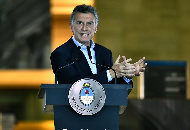 El presidente, Mauricio Macri.