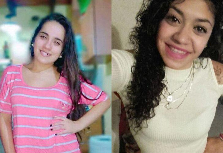 Tamara Olivera y Araceli Fulles