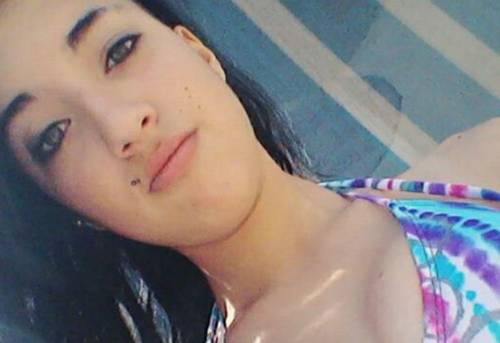 Ornella Dotori, de 16 años, víctima de un femicidio.