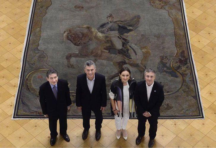 Macri y el embajador Frances