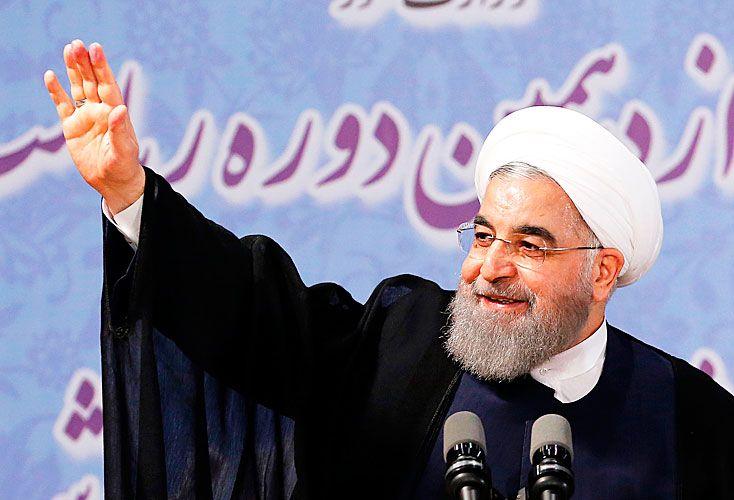 Presidente. Moderado, firmó el acuerdo nuclear y bajó la inflación.