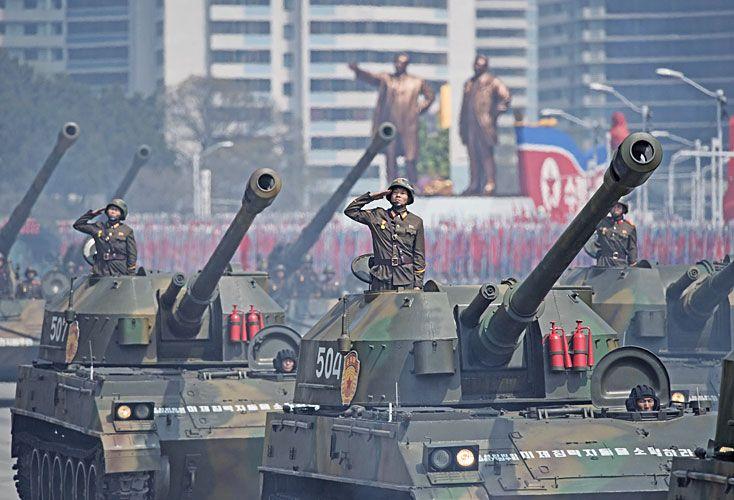 CONFLICTOS. Corea y Siria merecen más atención periodística.