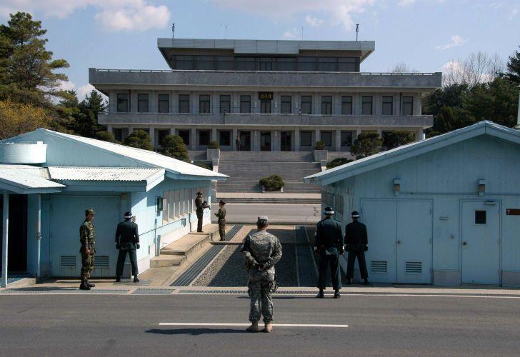 La frontera coreana.