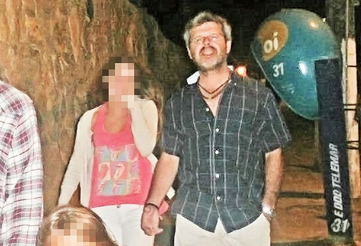 Familia. El magistrado de Gualeguaychú tiene tres hijos. En la foto, de vacaciones en Brasil.