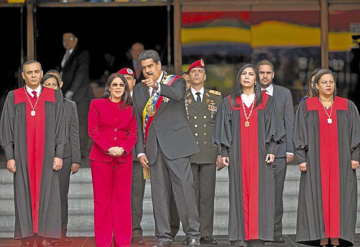 """""""Ansioso"""". Maduro adelantó que este año quiere que haya elecciones a gobernador en Venezuela."""