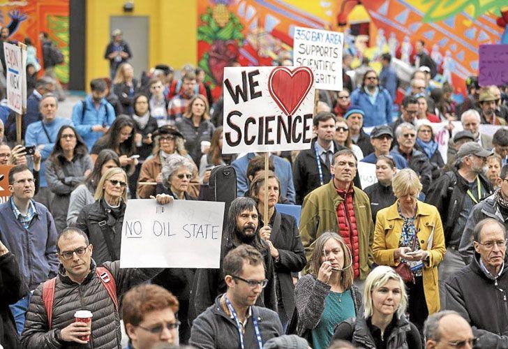 Defensa. Los organizadores no quieren que sea un acto contra Trump, sino a favor de la ciencia. Esperan miles de manifestantes.