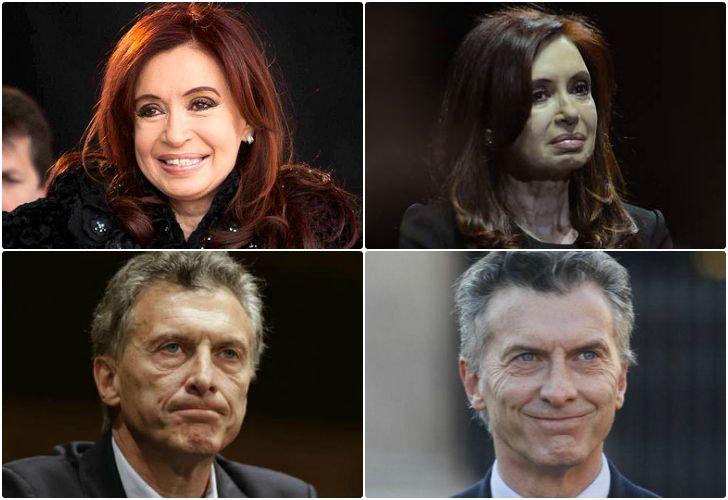 De marzo a abril. Up and down de Cristina y Macri.