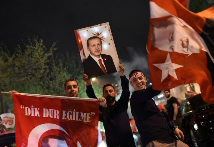 El Si se impuso en Turquía.