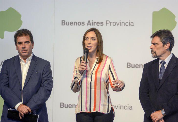 María Eugenia Vidal y Cristian Ritondo.