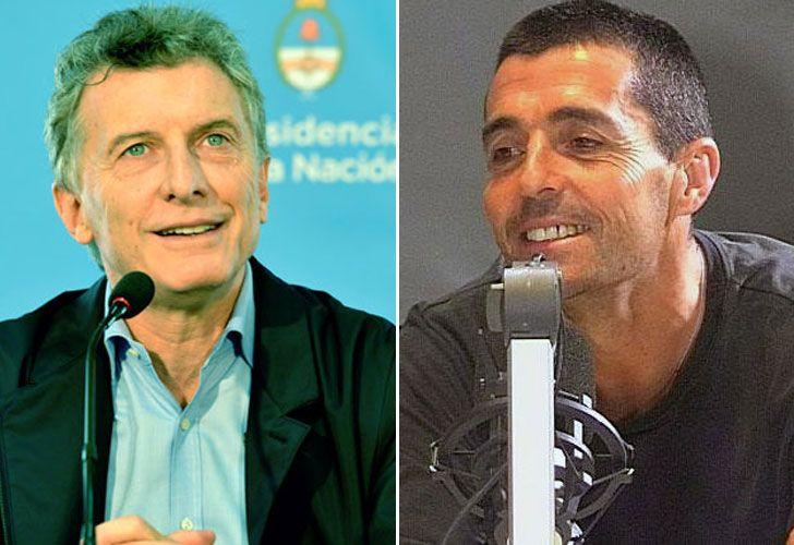 Macri y Delgado