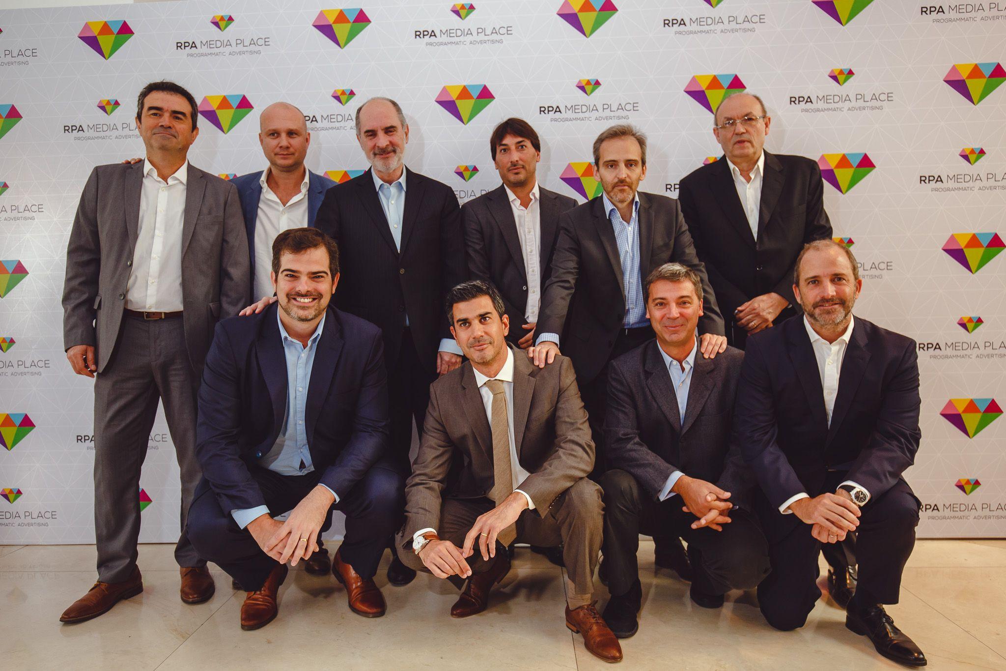 En el evento estuvieron presentes los socios de RPA Media Place.
