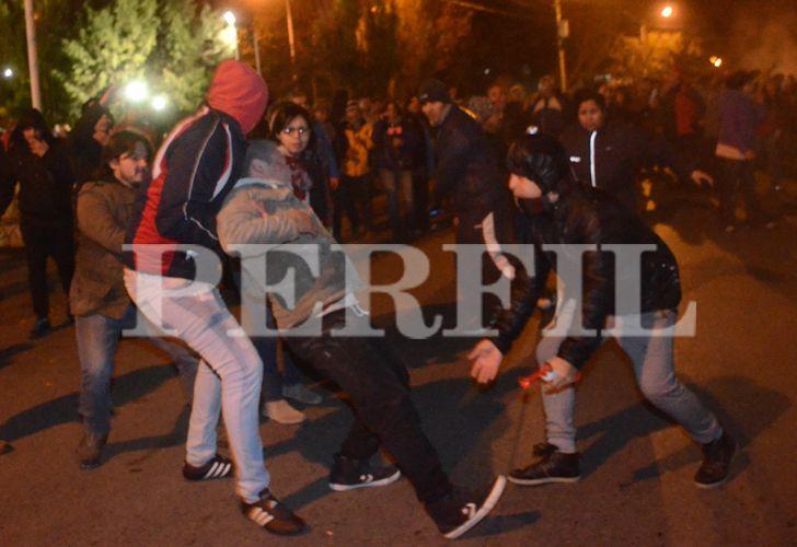 Disturbios en Santa Cruz
