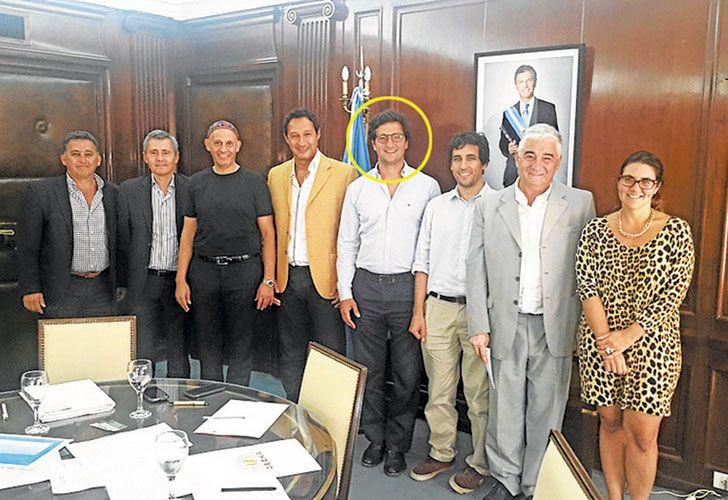 OTROS DIAS. Ureta Sáenz Peña asegura que deja el equipo de Bergman sin críticas y que se va a trabajar con Michetti.