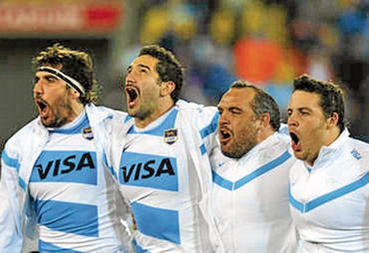 Rugby. Somos un equipo que se abraza y canta el Himno Nacional hasta las lágrimas.