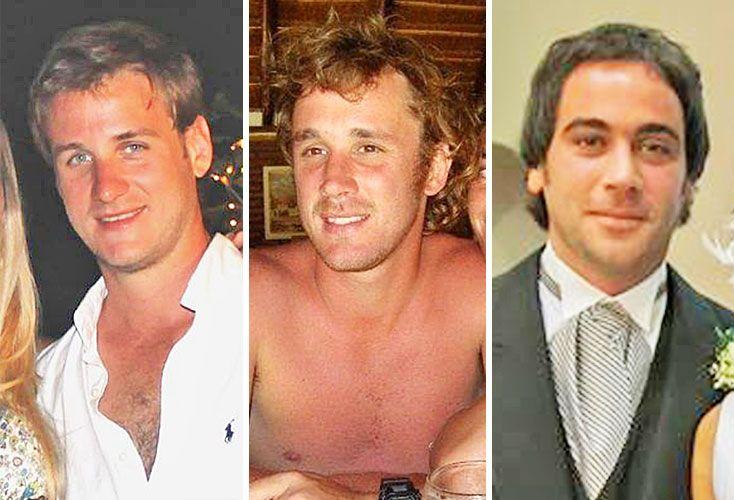 Horacio Pozo (34), Andrés Gallino (38), Eduardo Braun (33).
