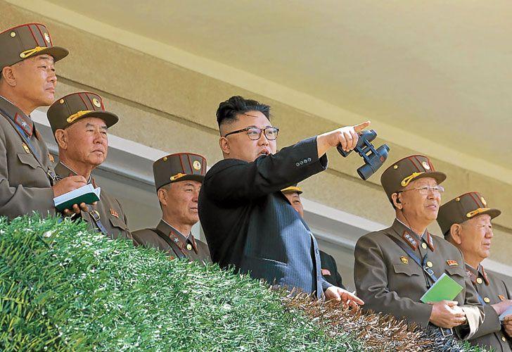 Peligrosidad. El dictador de Corea del Norte, Kim Jong-un, amenaza con apretar el botón nuclear.