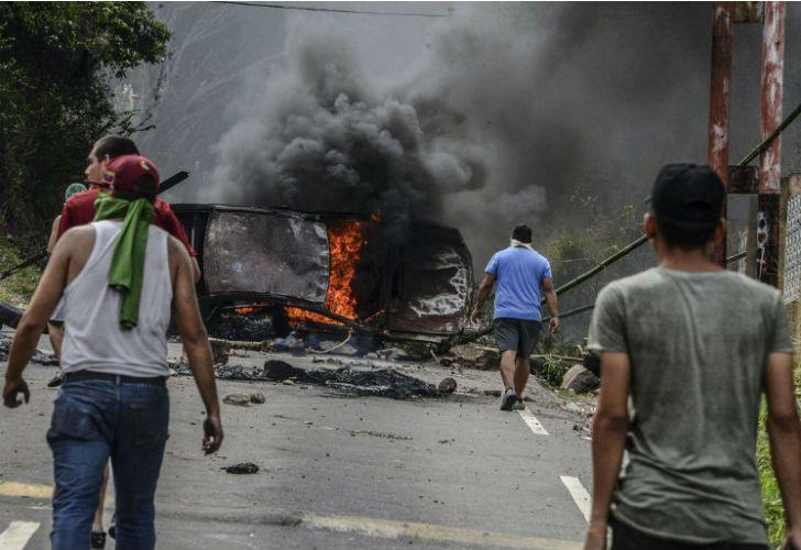 Ya suman 27 los muertos en Venezuela.