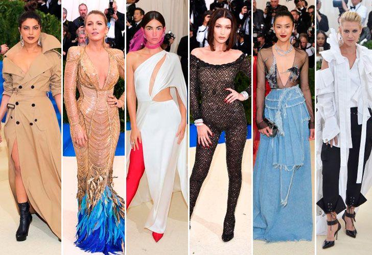 Los mejores looks:  Privanka Chopra, Blace Lively, Lily Aldridge, Bella Hadid, Liu Wen, Claire Danes.