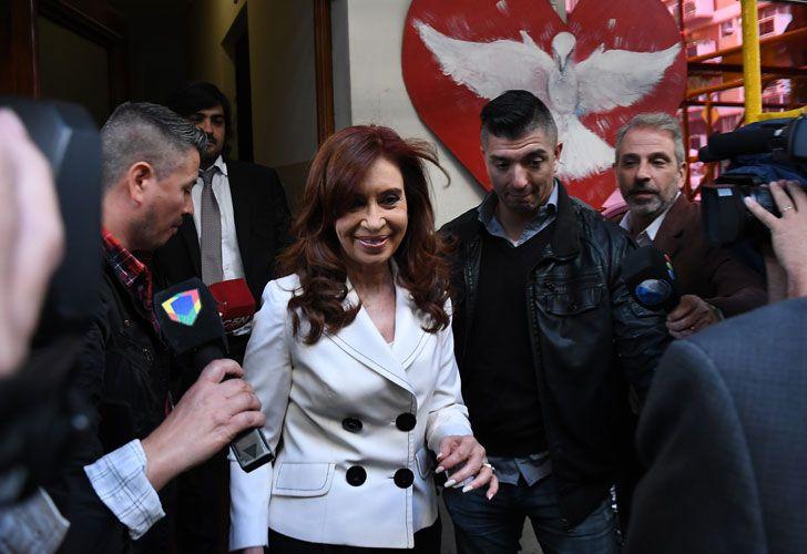 Cristina Kirchner en Comodoro Py
