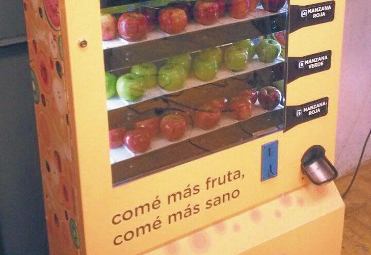"""""""Vending saludable"""". Exportarían máquinas made in Argentina."""