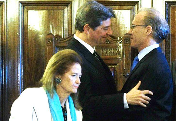 Firmantes. Los jueces de la Corte Suprema Highton de Nolasco, Rosatti y Rosenkrantz avalaron el fallo que provocó la polémica.
